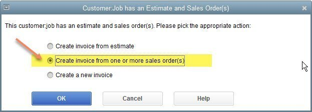 Sales Orders in QuickBooks Enterprise
